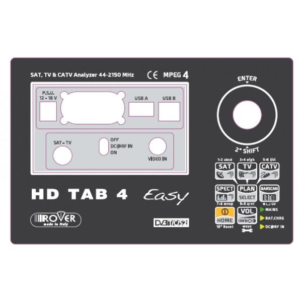 Etichetta frontale HD TAB 4 Easy